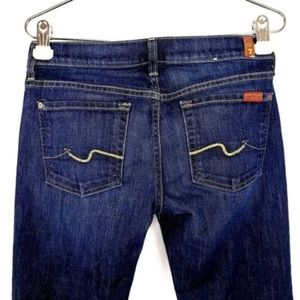 7 For All Mankind Jeans Womens Size 27 Bootcut